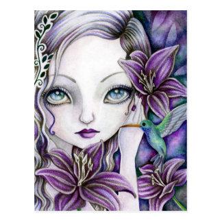 Dark Lilies - Postcard