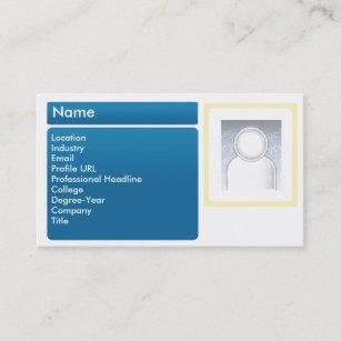 Linkedin business cards templates zazzle dark linkedin business business card colourmoves
