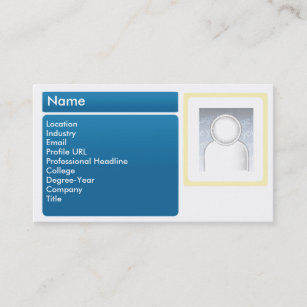 Linkedin business cards zazzle dark linkedin business business card reheart Image collections