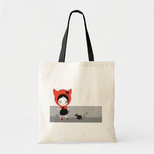 Dark Little Red Riding Hood Bag