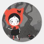Dark Little Red Riding Hood sticker