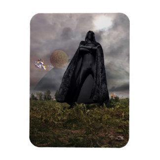 Dark lord rectangular photo magnet
