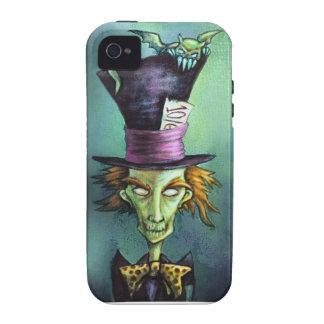 Dark Mad Hatter from Alice in Wonderland Case-Mate iPhone 4 Cases