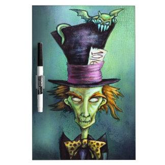 Dark Mad Hatter from Alice in Wonderland Dry-Erase Boards