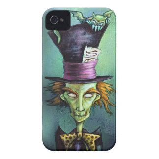 Dark Mad Hatter from Alice in Wonderland iPhone 4 Cases