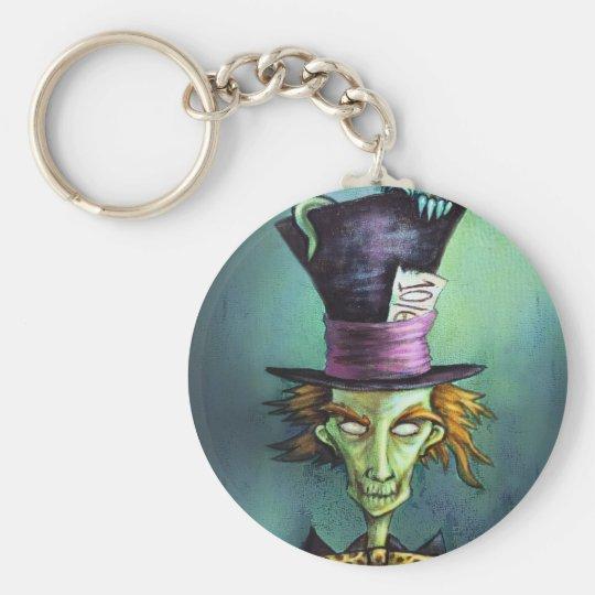 Dark Mad Hatter from Alice in Wonderland Keychain