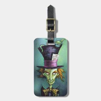Dark Mad Hatter from Alice in Wonderland Bag Tag
