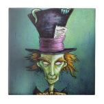 Dark Mad Hatter from Alice in Wonderland Ceramic Tiles