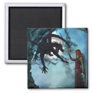 Dark Magic (Magnet) 2 Inch Square Magnet