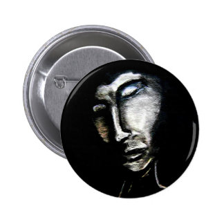 Dark Man Pinback Button