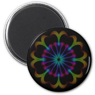 Dark Mandala Magnet