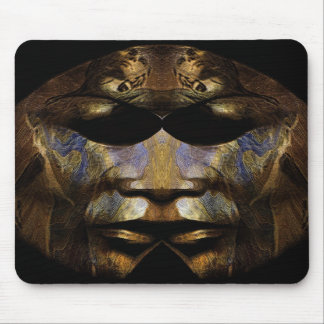Dark Mask Mouse Pads