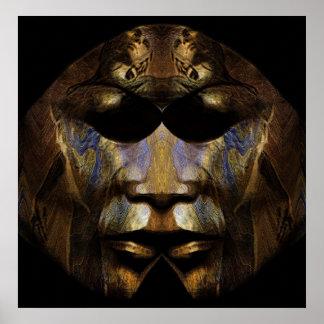 Dark Mask Poster