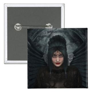 Dark Masquerade Gothic Button