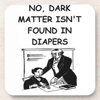 dark matter drink coaster