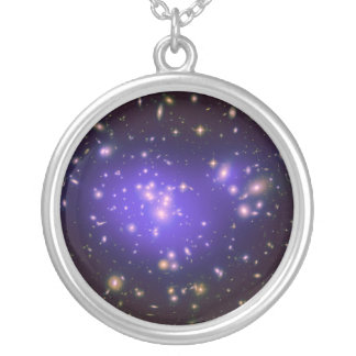 Dark Matter in Galaxy Cluster Abell 1689 (Hubble) Necklaces