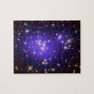 Dark Matter in Galaxy Cluster Abell 1689 (Hubble) Puzzle