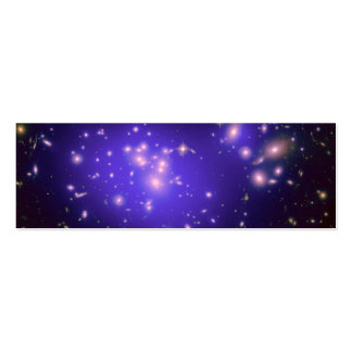 Dark Matter in Galaxy Cluster Abell 1689 (Hubble T Business Card