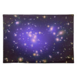 Dark Matter in Galaxy Cluster Abell 1689 (Hubble T Place Mat