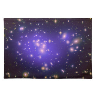 Dark Matter in Galaxy Cluster Abell 1689 (Hubble T Placemat