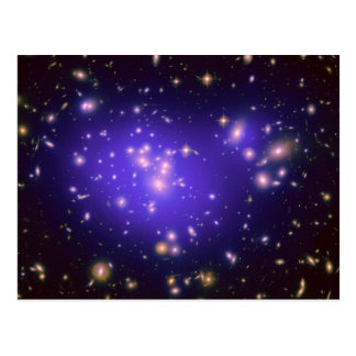 Dark Matter in Galaxy Cluster Abell 1689 (Hubble T Postcard
