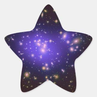 Dark Matter in Galaxy Cluster Abell 1689 (Hubble T Star Sticker