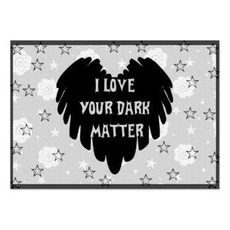 Dark Matter Large Business Card
