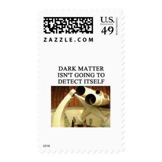 DARK matter physics joke Postage Stamp