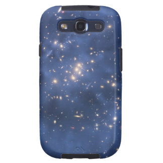 Dark Matter Ring and Galaxy Cluster in Cobalt Blue Samsung Galaxy SIII Covers