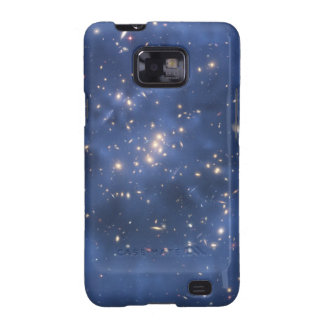 Dark Matter Ring and Galaxy Cluster in Cobalt Blue Galaxy SII Cover