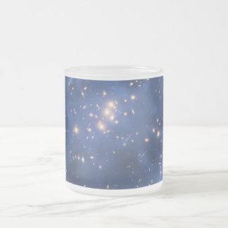 Dark Matter Ring in a Galaxy Cluster Coffee Mug