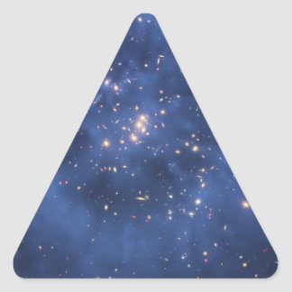 Dark Matter Ring in a Galaxy Cluster Triangle Stickers