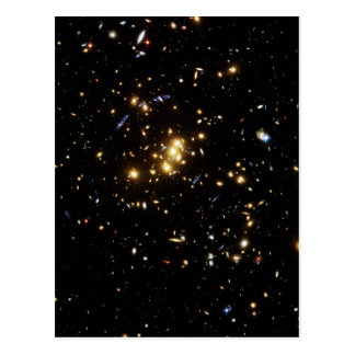 Dark Matter Ring in Galaxy Cluster Cl 0024 17 Postcard