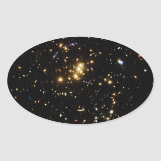 Dark Matter Ring in Galaxy Cluster Cl 0024 17 Stickers
