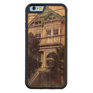 Dark Memories of a Victorian MissionDistrict .Sfc Carved Cherry iPhone 6 Bumper Case