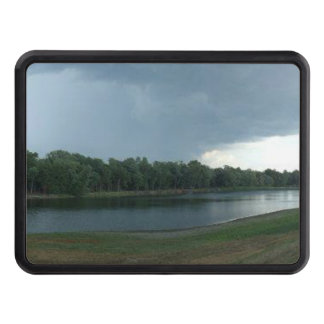 Dark Menacing Storm Cloud over a Lake valley Hitch Covers