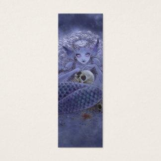 Dark Mermaid Bookmark Mini Business Card