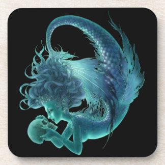 Dark Mermaid Coaster - Secret Kisses