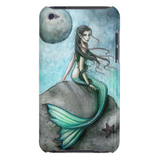 Dark Mermaid Fantasy iPod Touch iTouch Case Barely There iPod Cases