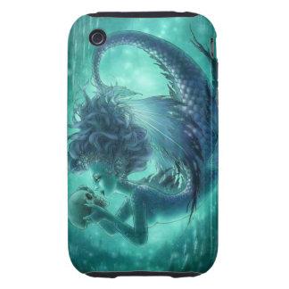 Dark Mermaid iPhone 3G 3GS Case - Secret Kisses Tough iPhone 3 Cases