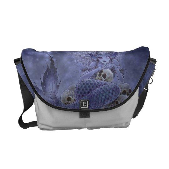 Dark Mermaid Messenger Bag