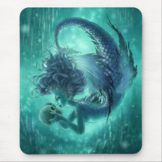 Dark Mermaid Mouspad - Secret Kisses Mouse Pad