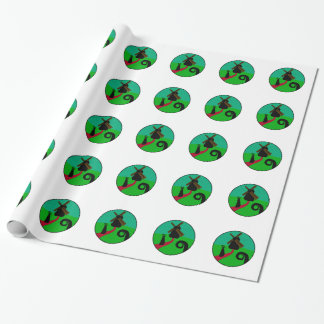Dark Mill Wrapping Paper