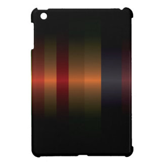 Dark modern strips pattern cover for the iPad mini