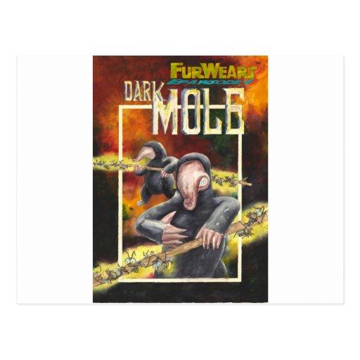 ¡DARK_Mole! _zazzle large.jpg Postales