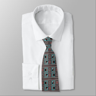 DARK MOONS TIE, i Art and Designs, Cocuyo A & D Neck Tie
