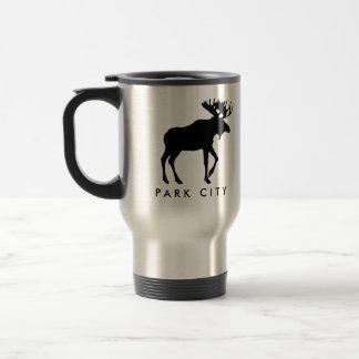 Dark Moose Travel Mug - Park City Souvenir