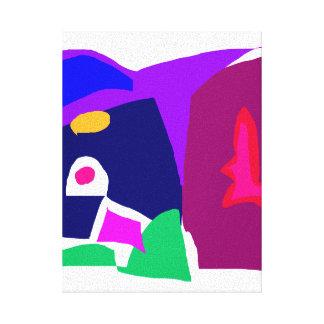 Dark Morning Breakfast Power Dependable Canvas Print