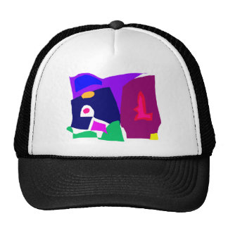 Dark Morning Breakfast Power Dependable Trucker Hat