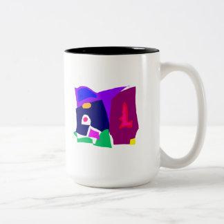 Dark Morning Breakfast Power Dependable Two-Tone Coffee Mug